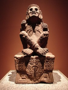 Statue of Xochipilli (National Museum of Anthropology, Mexico City)