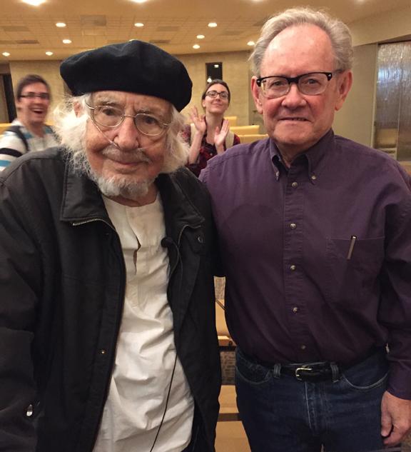 Ernesto Cardenal with Joseph Hutchison