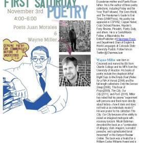 Don't Miss Juan Morales and Wayne Miller @ BookBar