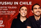 Wushu in Chile - Elizette and Hector Toledo