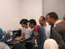 Practical lecture on how to use the analysis instruments