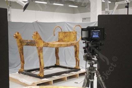 Tutankhamen ritual bed