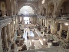 داخل المتحف المصري بالتحرير