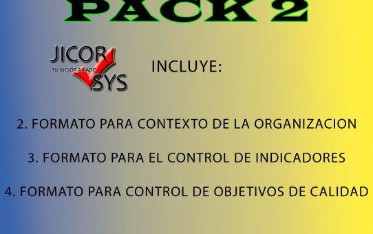 Formatos Esenciales (PACK 2)