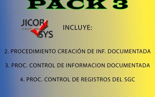 SGC Básicos Control Información Documentada (Pack 3)