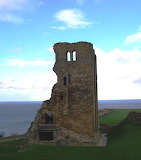 Scarborough Castle - online jigsaw puzzle - 20 pieces
