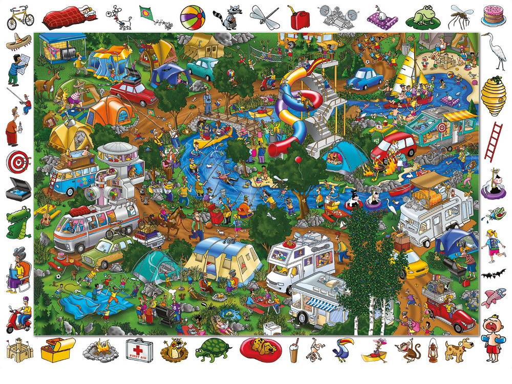 Get Away From It All Jigsaw By Holdson HOL095148 100 Pcs