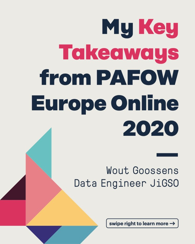 My Key Takeaways from PAFOW Europe Online 2020