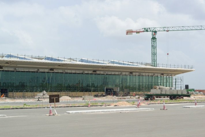 JNIA new terminal 3 construction