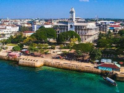 Revenue and foreign grants to Zanzibar