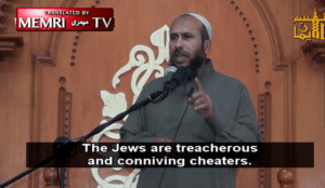 "Muslim cleric: Israeli national anthem says ""we will go where Allah wants when we see our enemies' severed heads"""