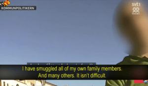 Sweden: Leftist politician, Rashad Alassad, smug... <a target=