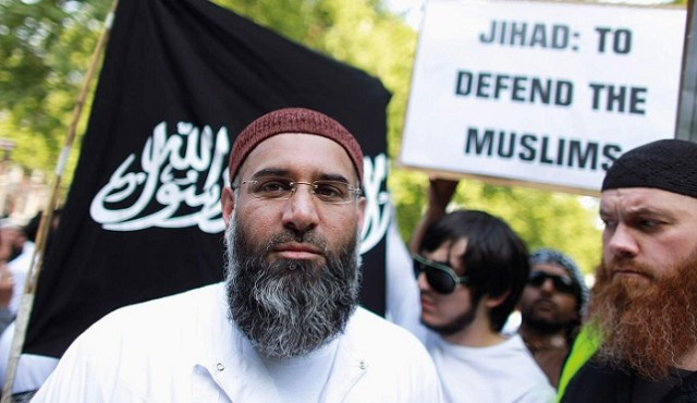 anjem chaudary The UK has been dealing with infiltration from radical jihadist for years now. They have commited terrorist attacks and completely taken over portions of London. Now the Muslim  Prison population is openly lashing out  against the Queen.