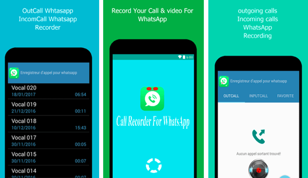 Using Call Recorder for WhatsApp to Record WhatsApp Calls on Android.