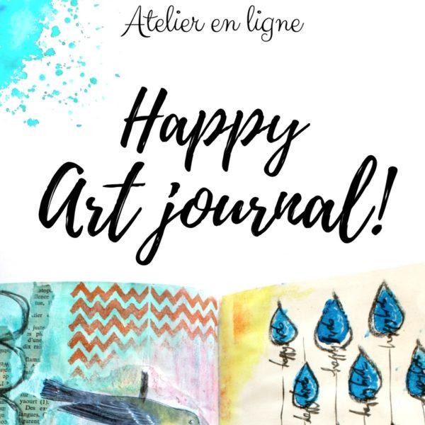 Bouton Happy Artjournal3