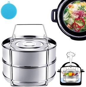 Instant Pot with stackable Stainless steel