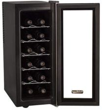 Free standing slim fit wine cooler refrigerator for apartments