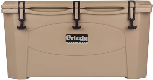 Grizzly 75 Quart cooler that can keep ice for days