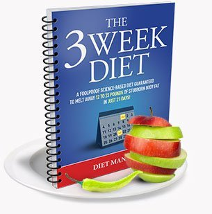three week diet plan on how to lose 20 pounds