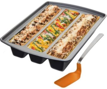 Chicago metallic Lasagna Pan with Dividers