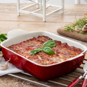 What size dish for Lasagna - Emile Henry Rectangular Lasagna Dish