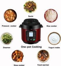 One cooking Pot with Luby Electric slow cooker