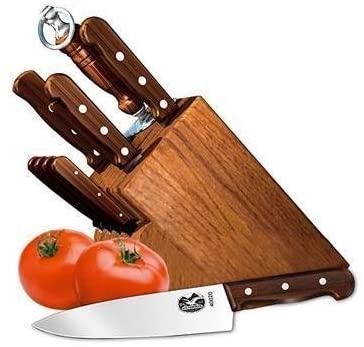 Victorinox 11 Piece Army Cutlery Knife Block set