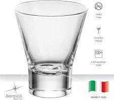 Quality non toxic drinking glass by Bormioli