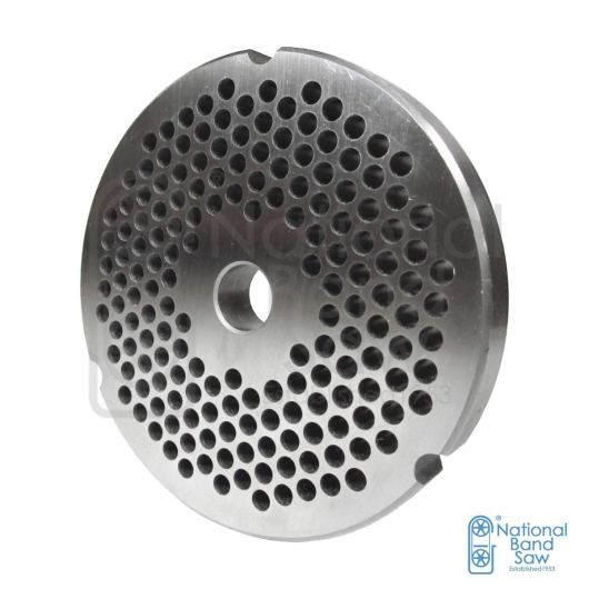 Grinder replacement plate for meat grinder size #32