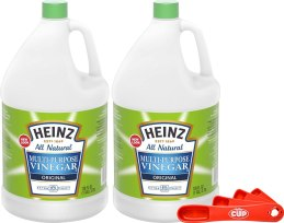 Vinegar cleaning agent for stainless steel