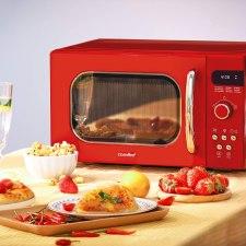 Comfee Retro Best Countertop Microwave Oven