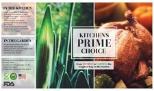 Kitchen prime choice freezer and oven safe bags