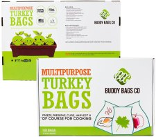 Multi purpose oven safe bags by Buddy