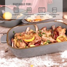 Oven Dish Set Rectangular Bakeware