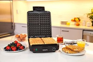 Krups Belgian Waffle Maker with removable plates