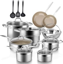 Best cookware set to use on a glass ceramic cooktop