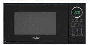 small high pointe RV microwave Oven