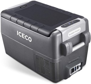 Iceco Portable 12V Compressor fridge for campervan