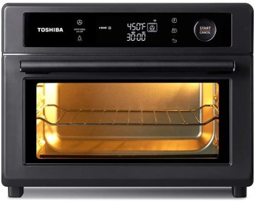 Toshiba convection oven for baking bread, cake ,cookies, chicken and Pizza.