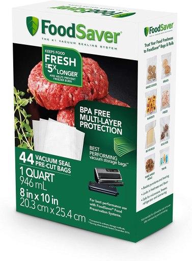 foodsaver bags max temperature