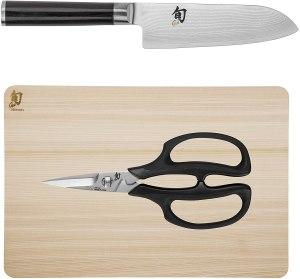 best hinoki cutting board for Japanese shun knife