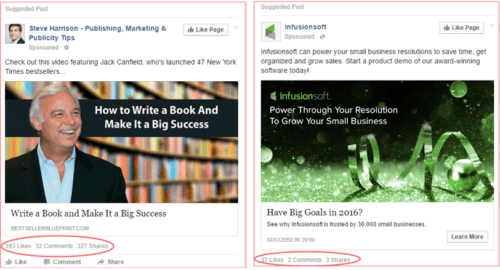 Make sure your Facebooks ads are relvevant