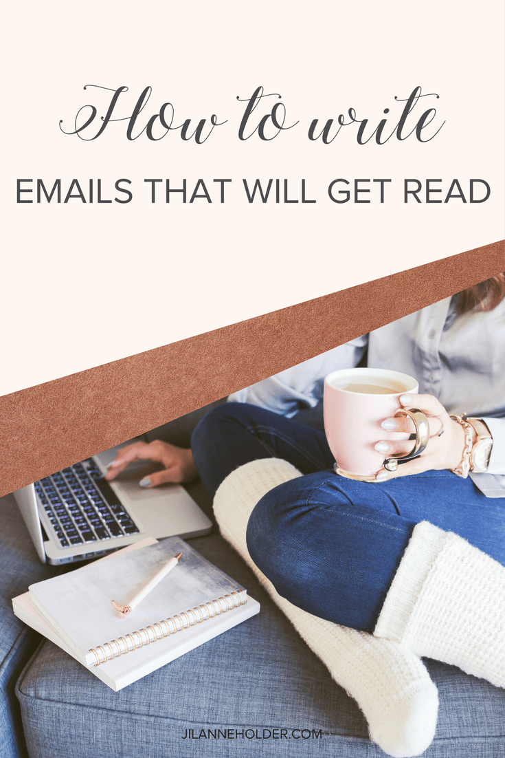 Emails that will get read