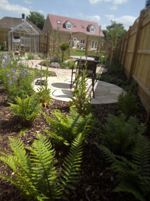 Country Garden Design Shrivenham Oxfordshire Jill Blackwood