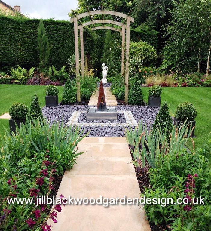 Portfolio garden designs by jill blackwood for Garden design uk