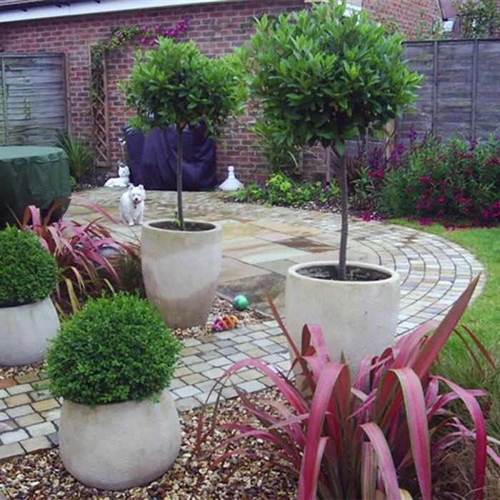 Courtyard Garden Design Wroughton, Swindon, Wiltshire