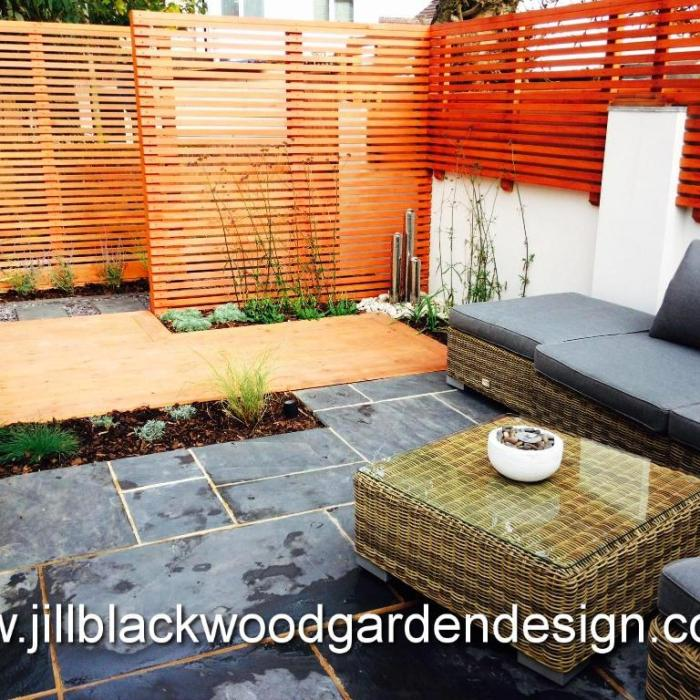 Contemporary Small Garden, Swindon, Wiltshire