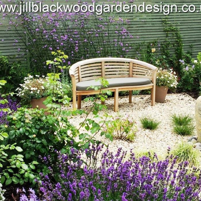 Mediterranean Garden Design Malmesbury, Wiltshire