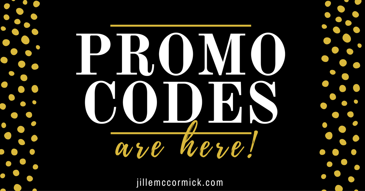 Promo codes! Get your promo codes here! (Plus book recommendations)