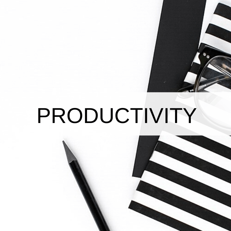 Productivity via @digitaldecluttered